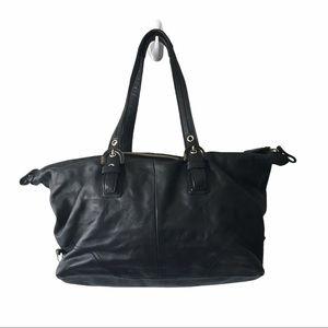 COACH Hobo Bag Black Leather